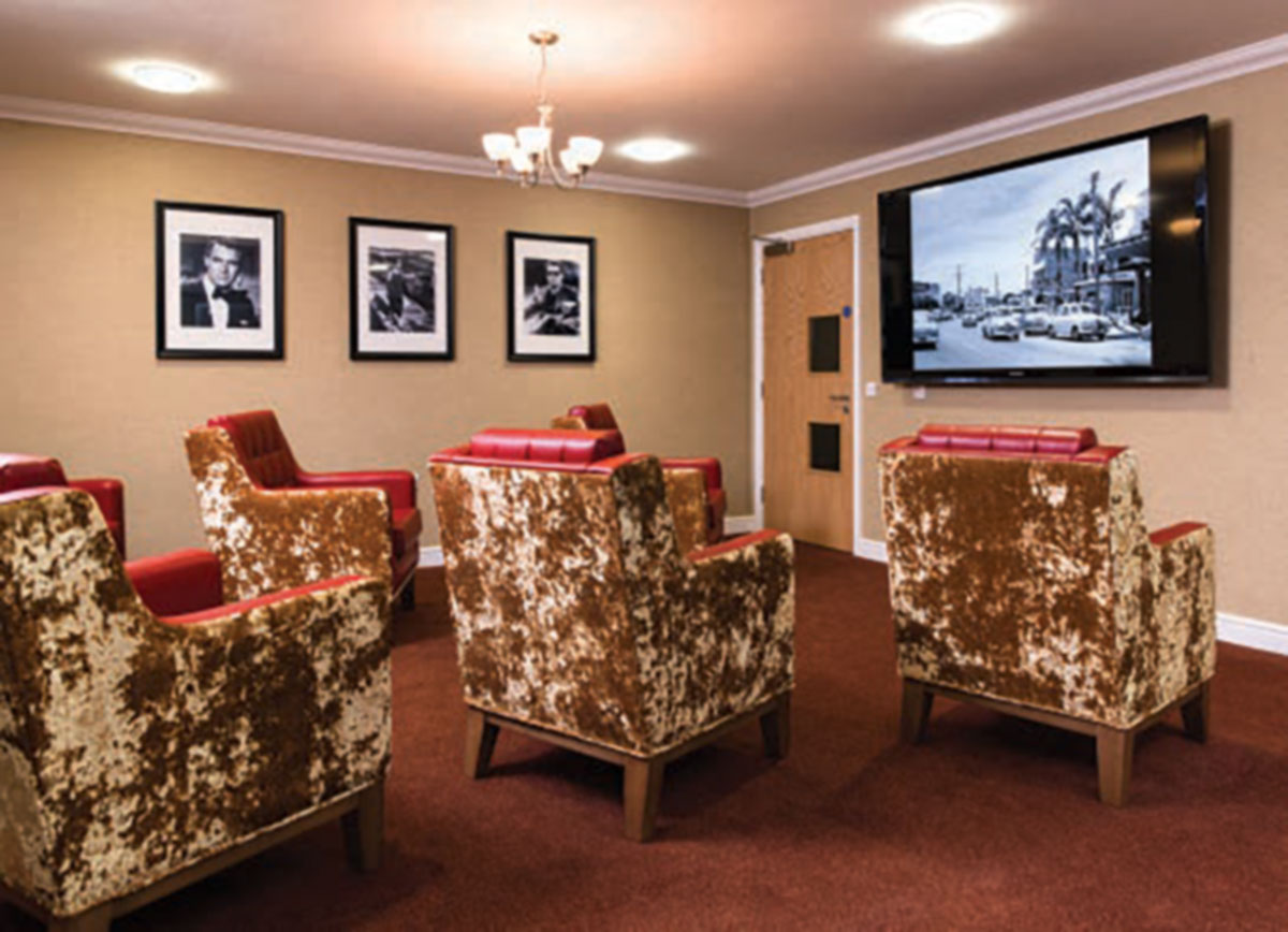 movies at oakham grange care home